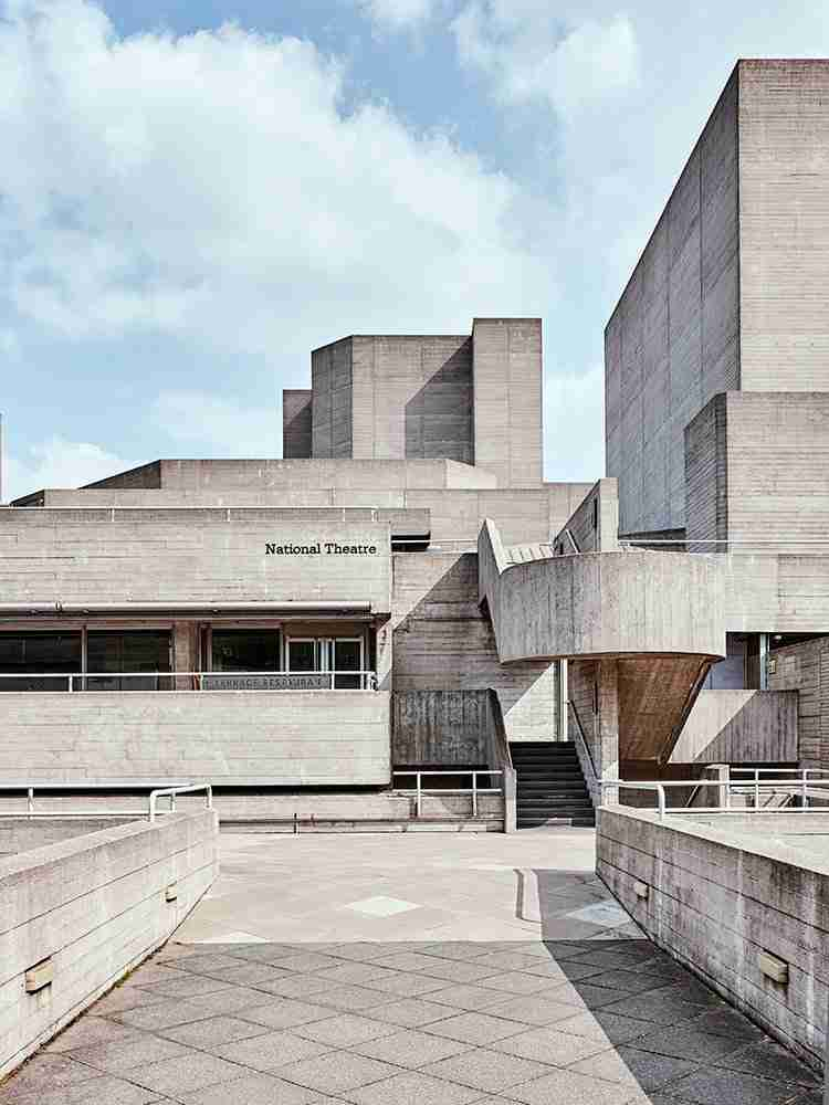 National Theatre Architecture Photography