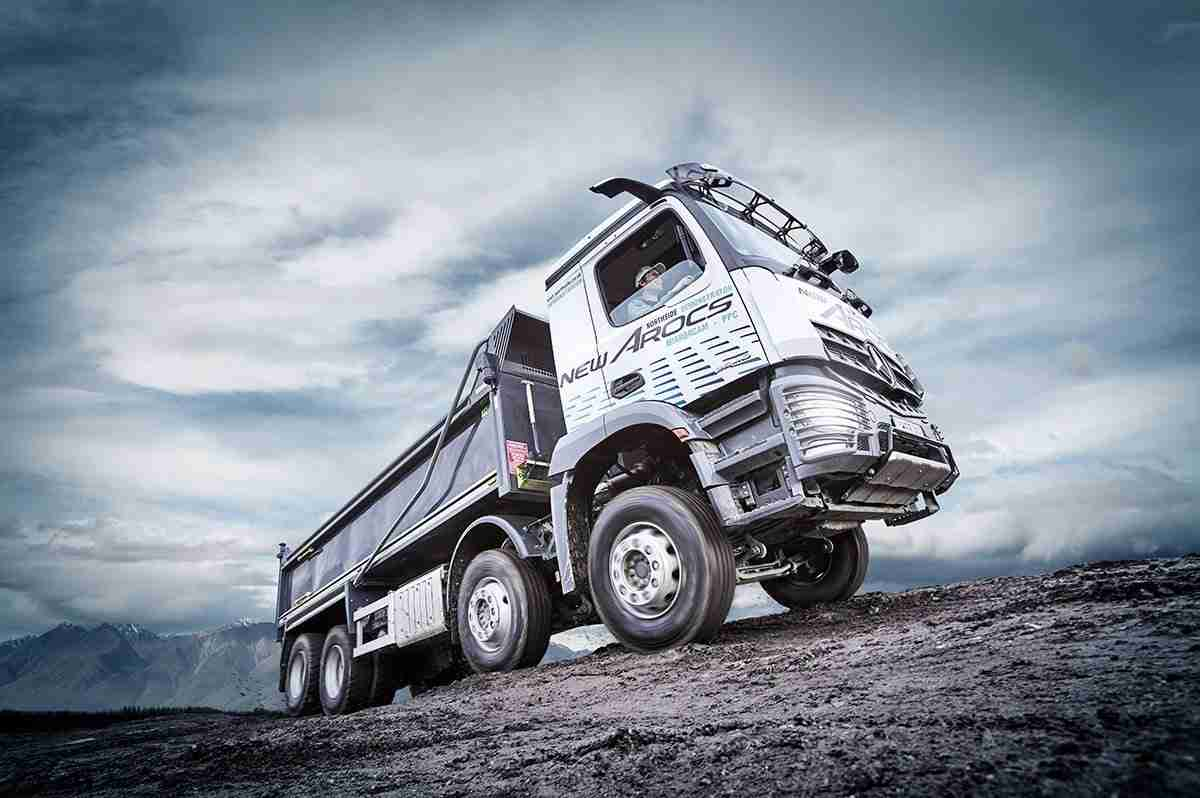 Commercial Vehicle Photography