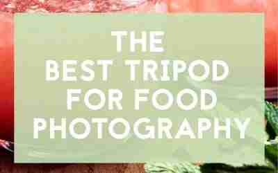 The best tripod for food photography
