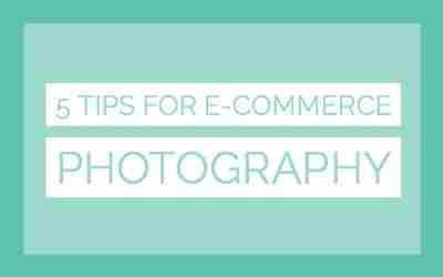 E-commerce photography tips