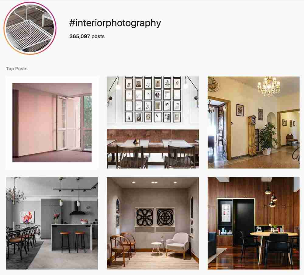 The Best Interior Photography Hashtags For Social Media