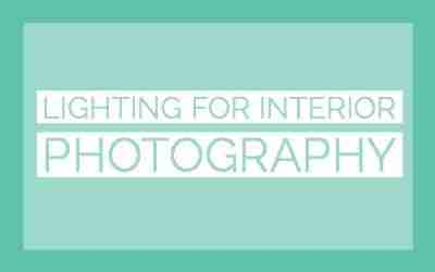 Lighting for interior photography