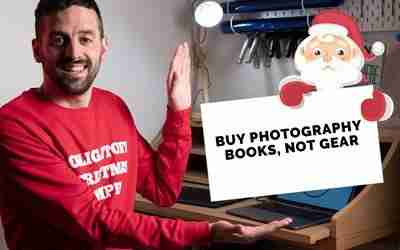 Buy photography books, not gear