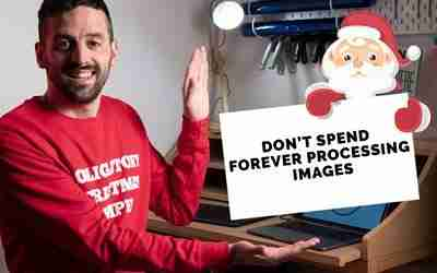 Don't spend forever processing images