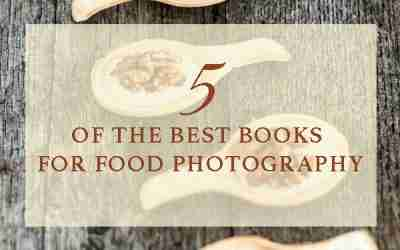 Five of the best books for food photography