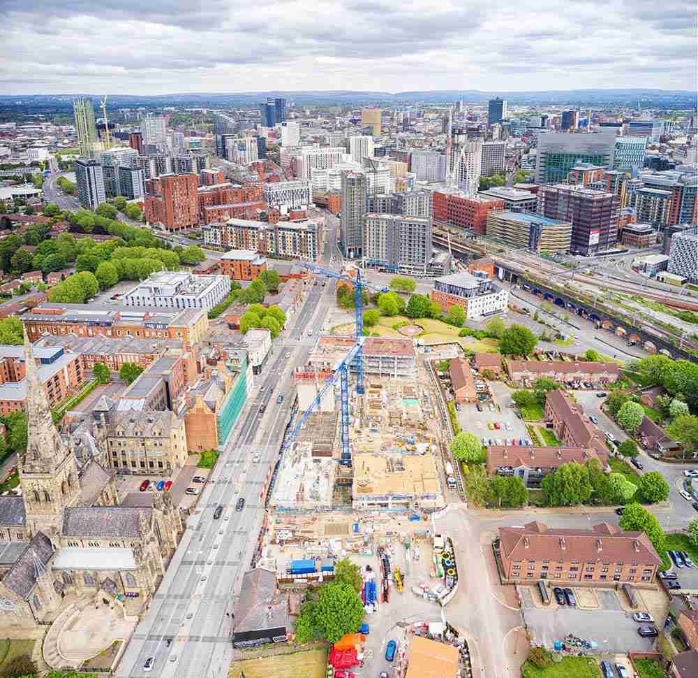 Aerial Drone Photography Manchester