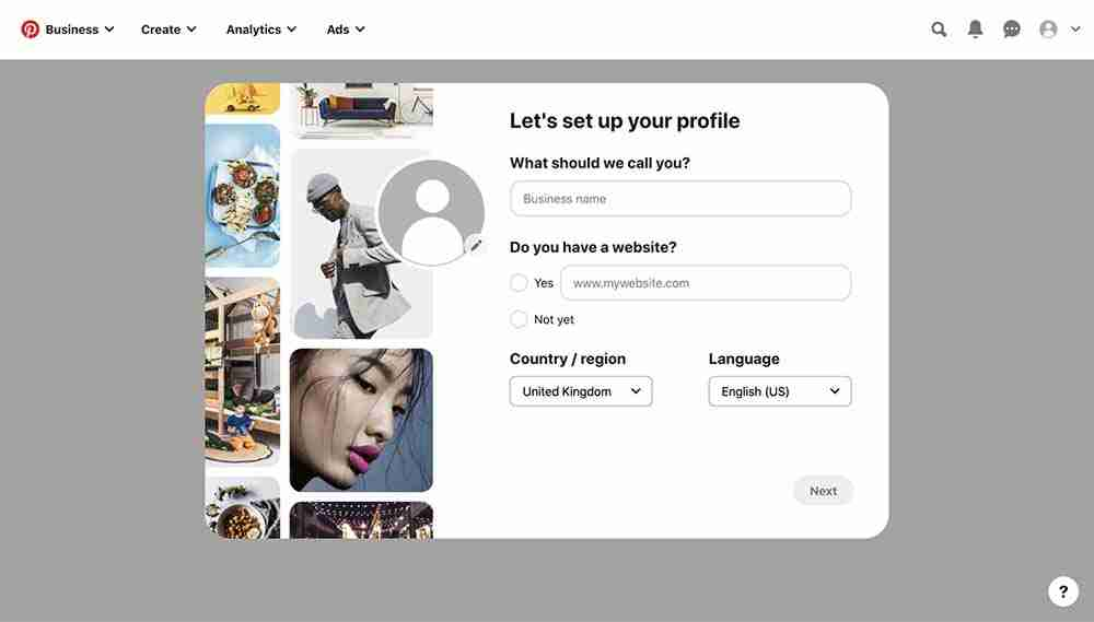 How to set up Pinterest - 2